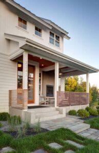 تصویر نرده برای محوطه ورودی خانه