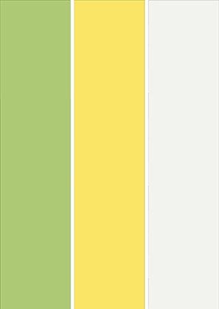 پالت رنگی با رنگ های زرد و سبز و طوسی