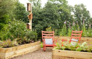 تصویری از یک باغچه های باغبانی که از زمین خود شناخت داشته است