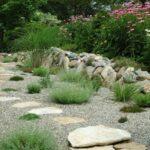 درصورت پربودن کف زمین از سنگ ریزه مسیر را با سنگ های بزرگ تر مشخص کنید