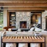 خانه ای با دیزاین سبک روستیک و چوبی