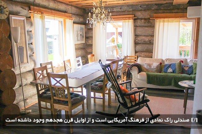 صندلی راک با کاربردهای متفاوت و در انواع بسیار زیبا برای هر دکوراسیونی
